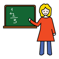woman teacher image